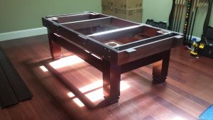 Pool and billiard table set ups and installations in Newport News Virginia